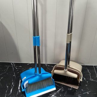 Standing Dustpan & Broom