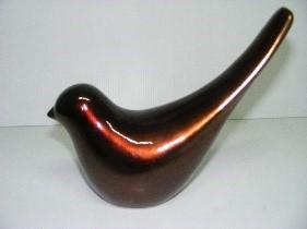 Ceramic Sparrow Brown