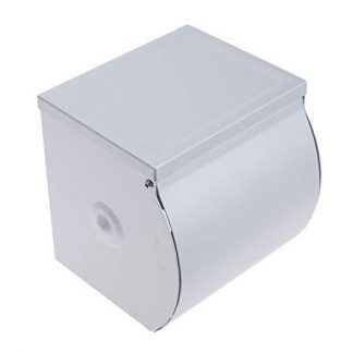 Enclosed Toilet Paper Holder