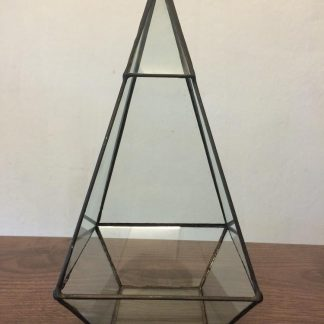 Geometric Triangular Terrarium