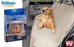 Pet Zoom Loungee (Backseat car mat)