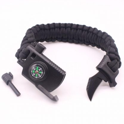 Survival Compass/Knife Band