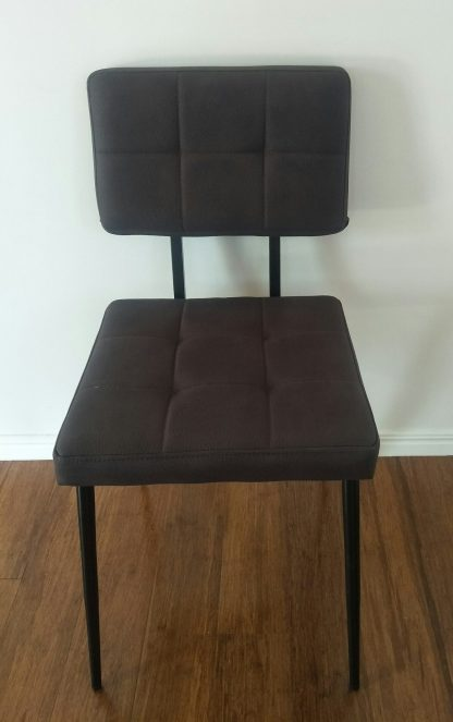 Material Suede Dining Chair