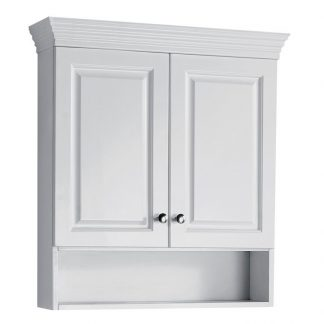 Wall hung Cabinet - (Black only available)