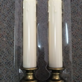 LED Set of 2 Battery Candles