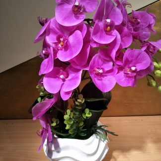 Artificial Large Moth Orchid Arrangement  Various Colours