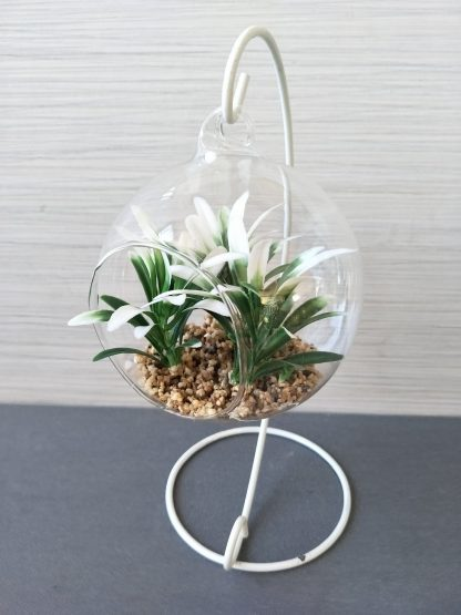 Artificial Terrarium Plant With Stand