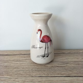 Flamingo Ceramic Vase Small