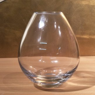 Balloon Shape Glass Vase
