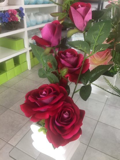 Artificial Small Rose Arrangement