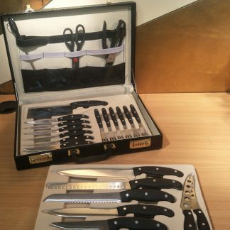 Cultery Hoff Mayer 25 piece knife set