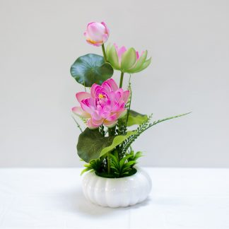 Artificial Lotus Arrangement