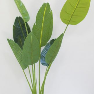 Artificial Large Leaf Traveller Plant