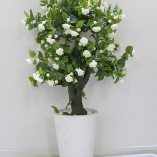 Artificial Gardenia (pot not included)