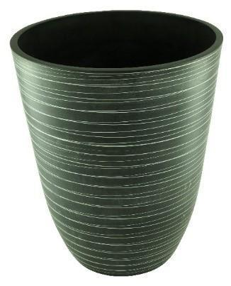 "Green Ship GS SPW ""Crucible"" Planter Pot - Large (Charcoal)"