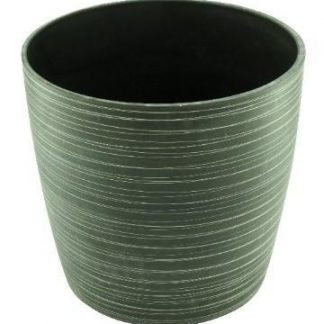 "Green Ship GS SPW ""U-Cup Planter"" - Med (Charcoal)"