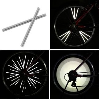 Reflective Spoke Clips