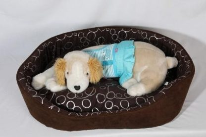 (XL) Dog Bed with Raised Sides for Comfort and Protection from Drafts