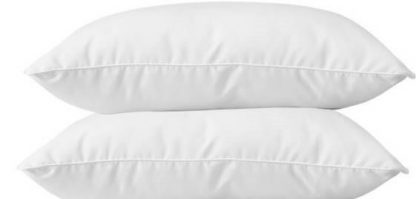 Pillow Set of 2 - Feather Like Fabric Pillow