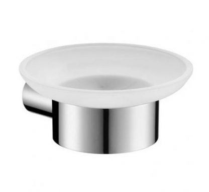 Aspect Frosted Soap Dish CP